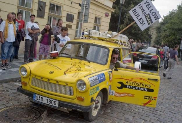 Trabantem da się przejechać całą Amerykę Południową /AFP