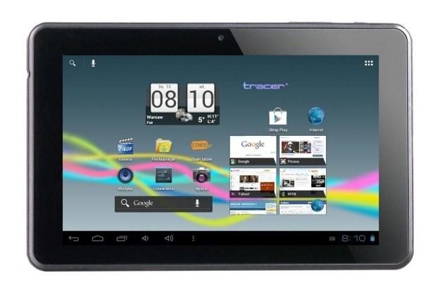 Tracer OVO 2.0 to bardzo solidny i naprawdę niedrogi tablet /materiały prasowe