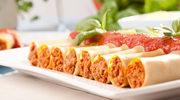 Tradycyjne Cannelloni z mięsem i pomidorami