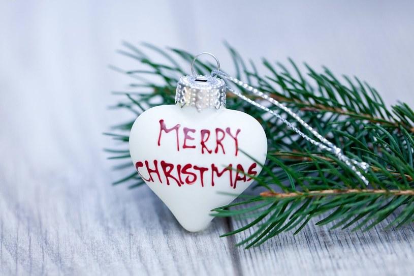 """Tradycyjne życzenia """"Merry Christmas"""" /East News"""