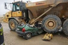 Tragedia na budowie A1. 44-latka wjechała pod ciężarówkę