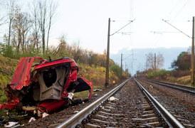 Tragedia na przejeździe kolejowym