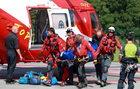 Tragedia w Tatrach. Nie żyje turysta, który spadł z Orlej Perci