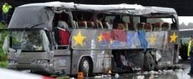 Tragiczny wypadek autokaru w Niemczech