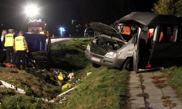 Wypadek w Gnojniku