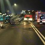 Tragiczny wypadek koło Częstochowy. Nie żyją dwie osoby