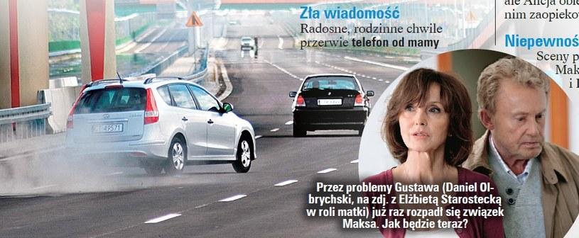 """Tragiczny wypadek Maksa to dopiero początek czarnej serii w """"Lekarzach"""". /Tele Tydzień"""