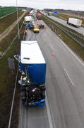 Tragiczny wypadek na A1 koło Natolina
