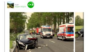 Tragiczny wypadek na DK 6. Trzy osoby ranne