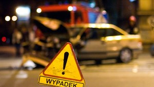 Tragiczny wypadek na Mazowszu. 2 osoby nie żyją