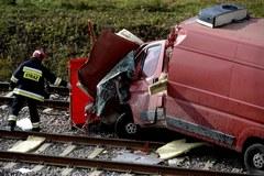 Tragiczny wypadek na przejeździe kolejowym