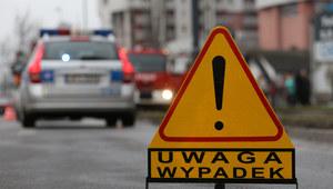 Tragiczny wypadek pod Bochnią. Nie żyje motocyklista