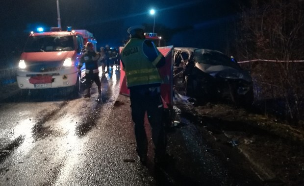 Tragiczny wypadek pod Kwidzynem. Nie żyją 4 osoby, trzy są ranne