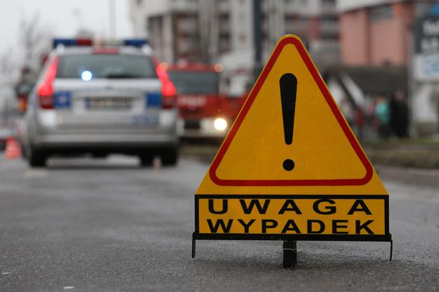 Tragiczny wypadek pod Lublinem (zdjęcie ilustracyjne) /Jakub Porzycki /Agencja FORUM