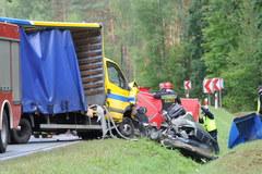 Tragiczny wypadek w Miłogórzu. Zginęły 3 osoby