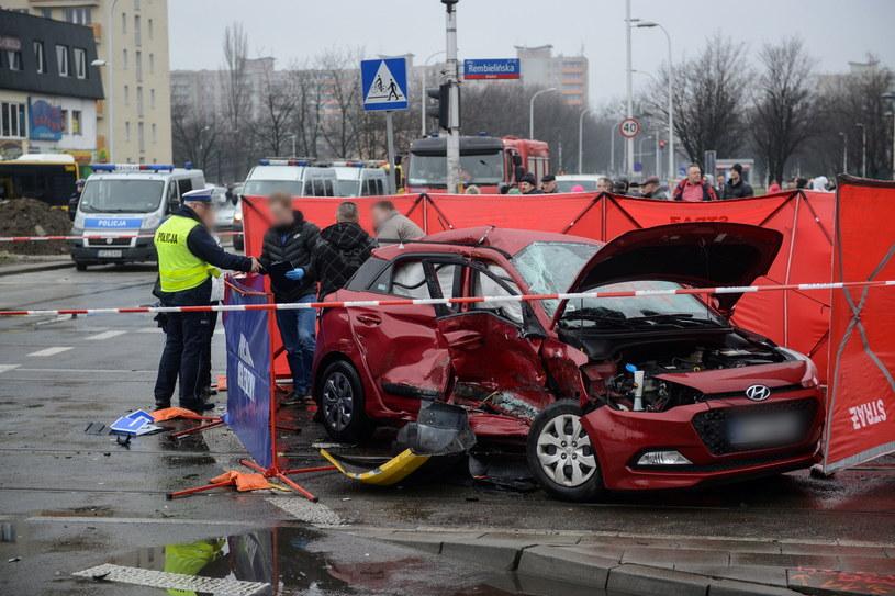 Tragiczny wypadek w stolicy /Jakub Kamiński   /PAP