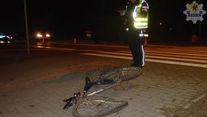 Tragiczny wypadek. Zginął 53-letni rowerzysta