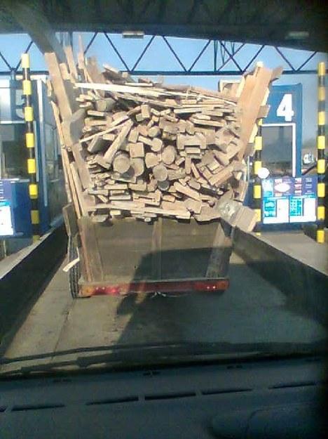 Traktorem na autostradę!