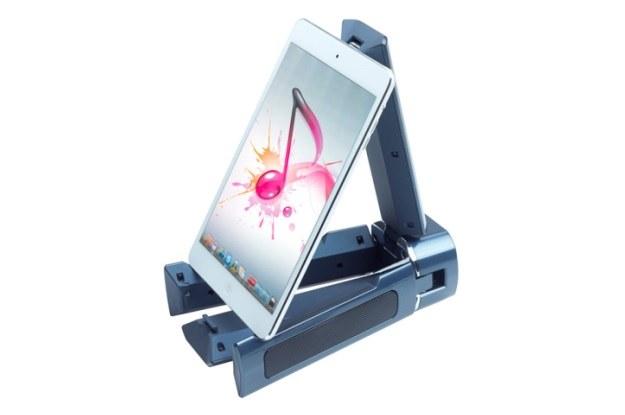 TRANSBar - system głośników 2.1 z podstawką pod tablet lub smartfon /materiały prasowe