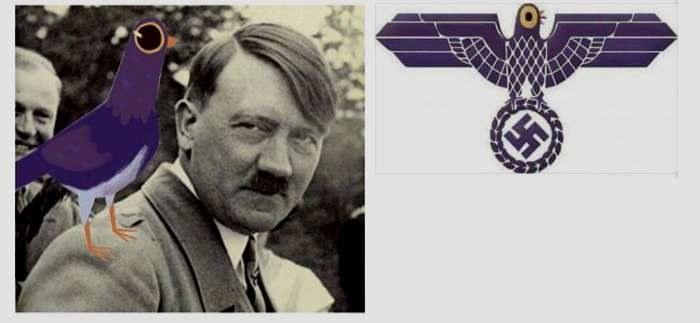 Trash Doves - radykalne grupy prawicowe w USA chcą zrobić z niego internetowy symbol neo-nazismu /Internet