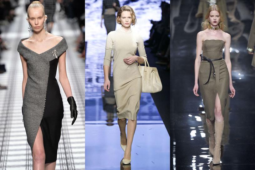 Trendy z wybiegów: Balenciaga, MaxMara i Ermanno Scervino /East News/ Zeppelin