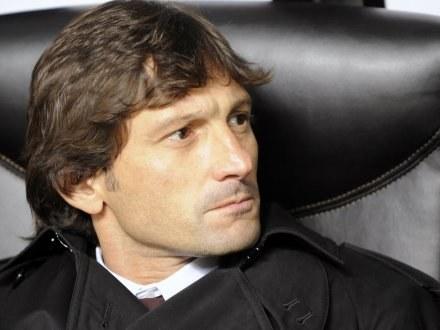 Trener AC Milan Leonardo /AFP