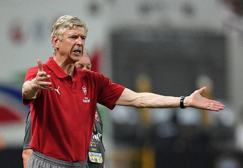 Trener Arsenalu Arsene Wenger /AFP