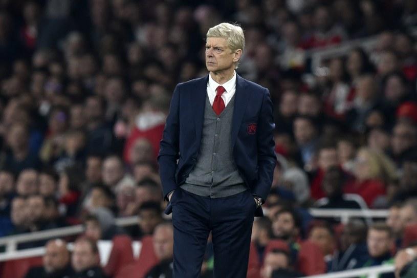 Trener Arsenalu Londyn Arsene Wenger /PAP/EPA