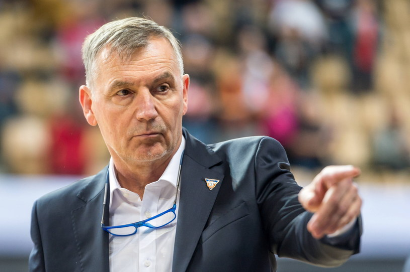Trener Artego Bydgoszcz Tomasz Herkt /Fot. Tytus Żmijewski /PAP