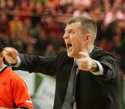 Trener Asseco Prokomu - Tomas Pacesas /AFP