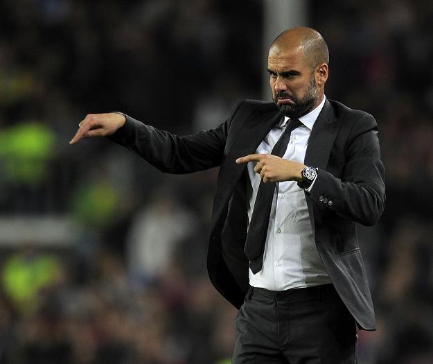 Trener Barcelony Josep Guardiola /AFP
