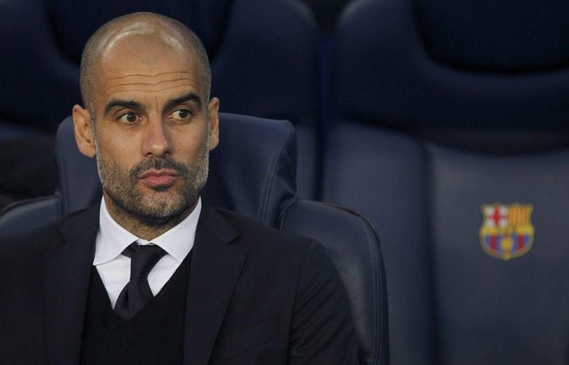 Trener Bayernu Monachium Pep Guardiola /PAP/EPA