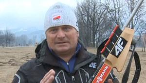 Trener biathlonu o karabinie Pałki: Nie trzeba nawet dwóch sekund