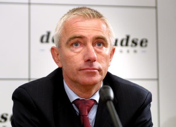 Trener Borussii Dortmund Bert van Marwijk Fot. Włodzimierz Sierakowski /Agencja Przegląd Sportowy