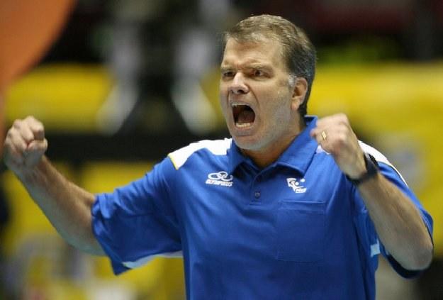 Trener Brazylii Bernardo Rezende /AFP