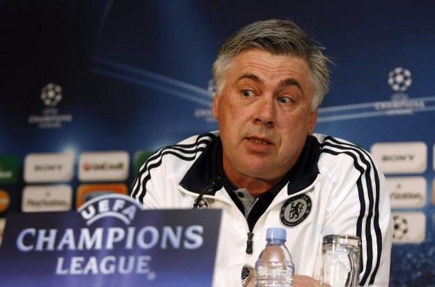 Trener Chelsea Londyn Carlo Ancelotti /AFP