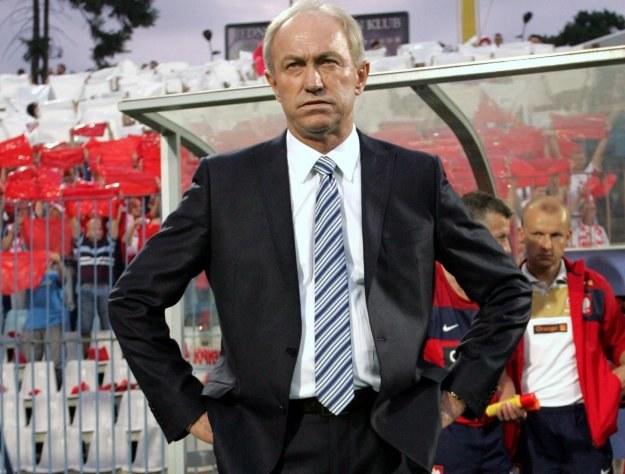 Trener Franciszek Smuda. Fot. Adam Ciereszko /INTERIA.PL/PAP