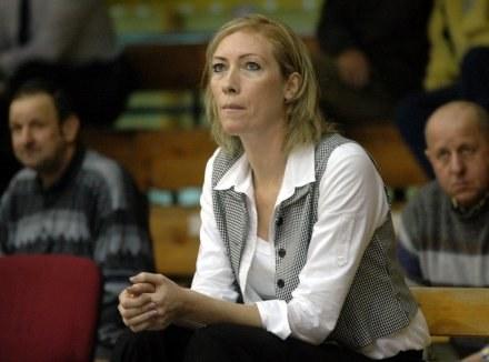 Trener INEI AZS Katarzyna Dydek /Agencja Przegląd Sportowy