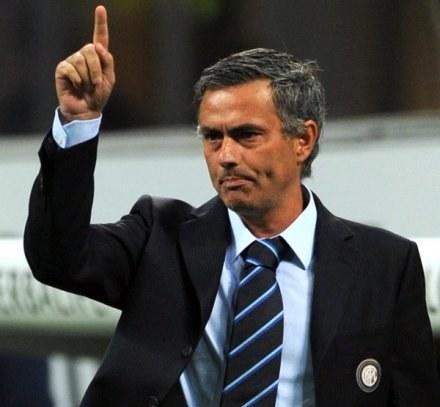 Trener Interu Mediolan Jose Mourinho. /AFP