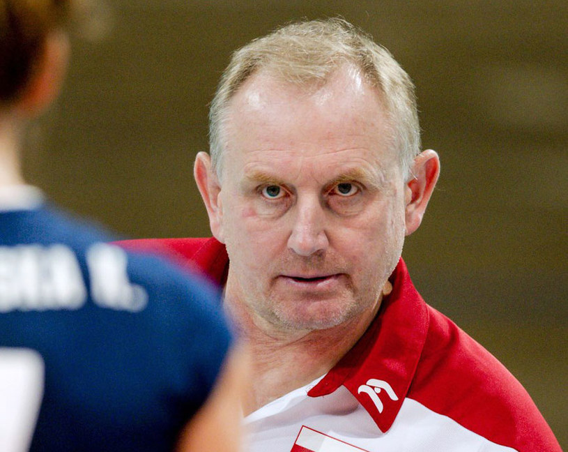 Trener Jacek Nawrocki /AFP