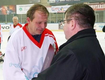 Trener Jacek Szopiński, FOT. Tadeusz Bącal. /INTERIA.PL