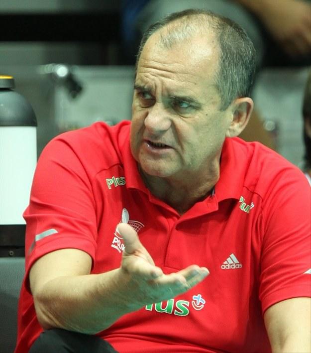Trener Jerzy Matlak. Fot. Adam Ciereszko /PAP