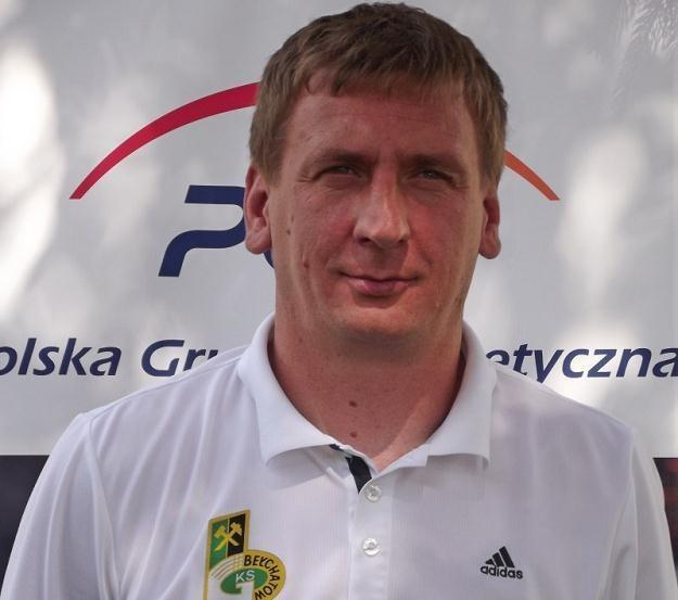 Trener Kamil Kiereś, Fot GKS Bełchatów /INTERIA.PL