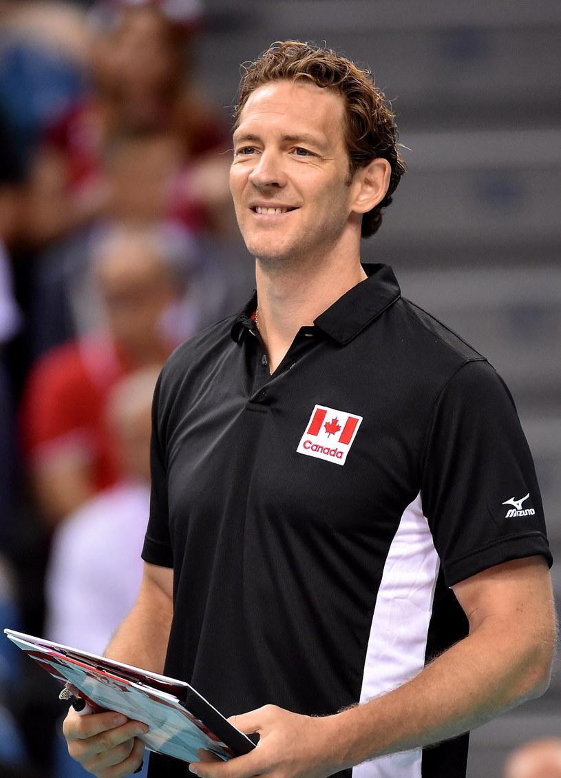 Trener Kanady Stephane Antiga /fot. Jacek Bednarczyk /PAP