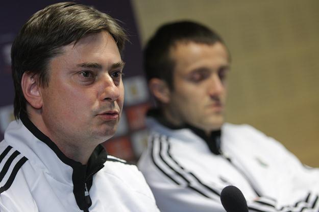 Trener Legii Warszawa Maciej Skorża Fot. Bartłomiej Zborowski /PAP