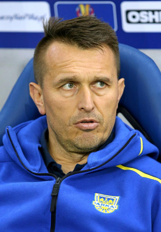 Trener Leszek Ojrzyński. /Stanisław Rozpędzik /PAP