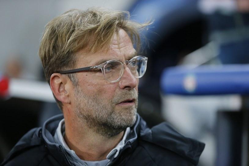 Trener Liverpoolu Juergen Klopp /PAP/EPA