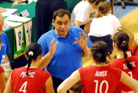 Trener Muszynianki Bogdan Serwiński Fot. Piotr Sumara /Agencja Przegląd Sportowy