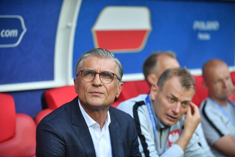 Trener Nawałka wierzy, że jego drużyna jest w stanie wygrać kolejne spotkania /Bartłomej Zborowski /PAP