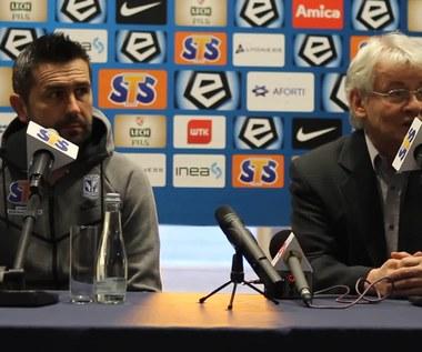 Trener Nenad Bjelica przed meczem Lecha Poznań z Cracovią